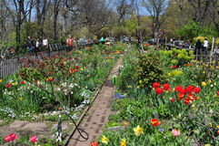 NYC: The People's Garden in Riverside Park Stock Photos