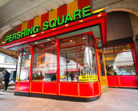 nyc pershing τετράγωνο στοκ εικόνες