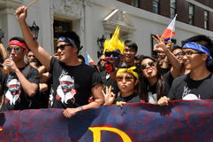 NYC:  Philippine Independence Day Parade Stock Images