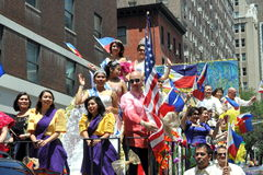 NYC: Philippines Independence Day Parade Royalty Free Stock Photography