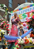 NYC: Philippines Independence Day Parade Stock Image