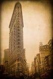 NYC-Plätteisen-Gebäude Lizenzfreies Stockbild