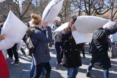 2015 NYC poduszki walka 147 Fotografia Stock