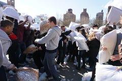 2015 NYC poduszki walka 108 Fotografia Stock