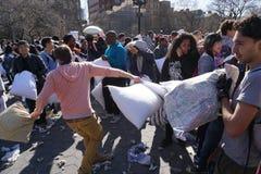 2015 NYC poduszki walka 45 Obraz Stock
