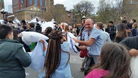 2016 NYC poduszki walki dnia część 2 92 Zdjęcie Royalty Free