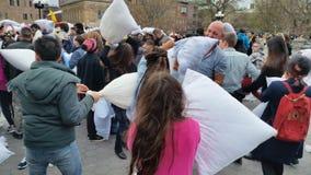2016 NYC poduszki walki dnia część 2 96 Zdjęcie Royalty Free