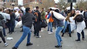 2016 NYC poduszki walki dnia część 2 97 Obrazy Royalty Free