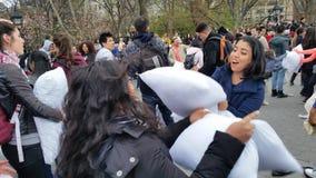 2016 NYC poduszki walki dnia część 2 98 Zdjęcie Royalty Free