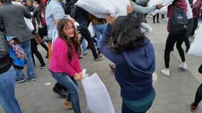 2016 NYC poduszki walki dnia część 3 4 Zdjęcie Stock