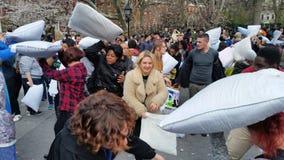 2016 NYC poduszki walki dnia część 3 56 Zdjęcie Stock
