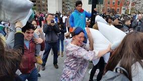2016 NYC poduszki walki dnia część 3 64 Obrazy Stock