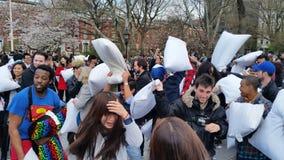 2016 NYC poduszki walki dnia część 3 83 Obrazy Stock