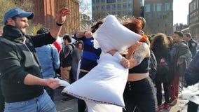 2016 NYC poduszki walki dnia część 4 12 Obrazy Stock