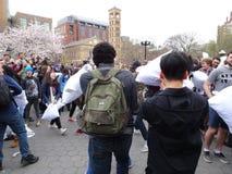 2016 NYC poduszki walki dzień 2 Zdjęcia Stock