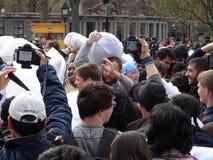 2016 NYC poduszki walki dzień 64 Zdjęcia Stock