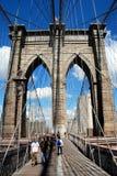 NYC: A ponte de Brooklyn Imagem de Stock