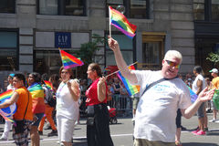 2014 NYC Pride March Photographie stock libre de droits