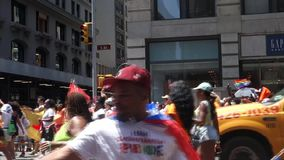 2014 NYC Pride March stock footage