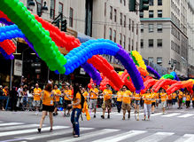 NYC Pride March on June 28, 2009 Royalty Free Stock Photo