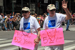 NYC Pride March on June 28, 2009 Stock Images