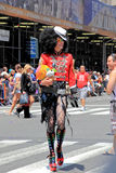 NYC Pride March on June 28, 2009 Royalty Free Stock Photography
