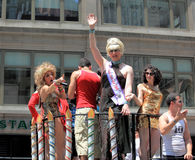 NYC Pride March on June 28, 2009 Stock Photo