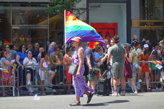 2014 NYC Pride March Stock Photography