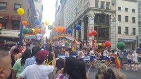 NYC Pride Parade Imagens de Stock