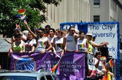 NYC: 2014 Pride Parade gay fotografía de archivo libre de regalías