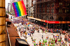 NYC Pride Royalty Free Stock Photography