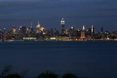 NYC przy zmierzchem Zdjęcie Royalty Free