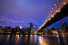 NYC Queensboro Bridge Stock Images