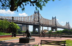 NYC:  The Queensboro Bridge Royalty Free Stock Photography