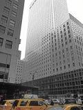 NYC - recherchant Le bâtiment de Mobil Image libre de droits