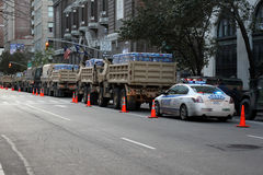 NYC Relief Effort after Superstorm Sandy Stock Image