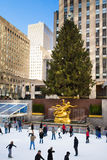 NYC Rockefeller Center Christmas Royalty Free Stock Image