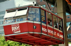 NYC: Roosevelt Island Tram Stock Images