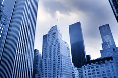 NYC'S tall buildings Royalty Free Stock Photography