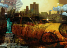 NYC-Samenstelling Royalty-vrije Stock Afbeelding