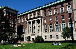 NYC: Scuola dell'università di Columbia di giornalismo Immagine Stock Libera da Diritti