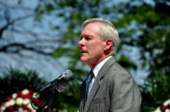 NYC: Secretary of the Navy Ray Mabus Royalty Free Stock Photos