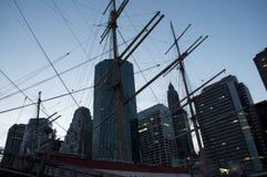 NYC-Seehafen Lizenzfreie Stockbilder