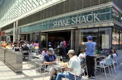 NYC:  Shake Shack Restaurant Stock Photo