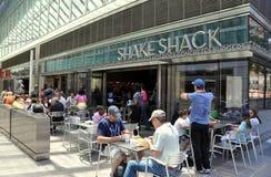 NYC:  Shake Shack Restaurant Stock Photo