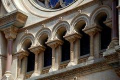 NYC: Sinagoga della via di Eldrdige fotografie stock