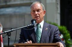 NYC: Sindaco Michael Bloomberg Fotografia Stock