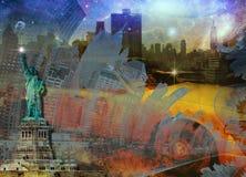 NYC skład Zdjęcie Royalty Free