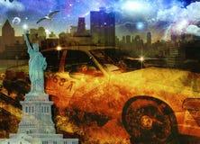 NYC skład Zdjęcia Stock