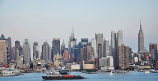 NYC skyline Royalty Free Stock Photography